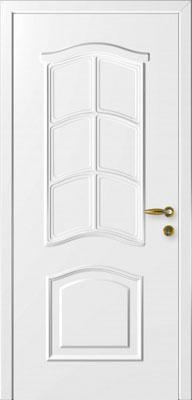 Дверь Милан белая.